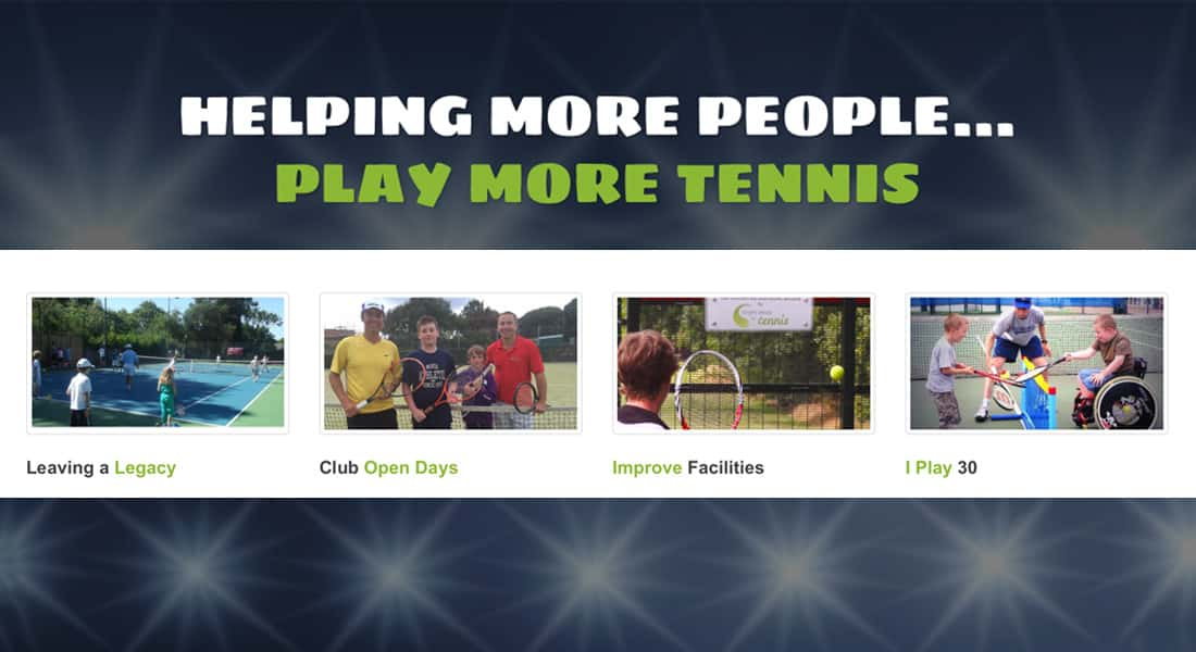Play more tennis