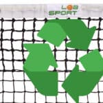 Can we recycle old tennis nets?