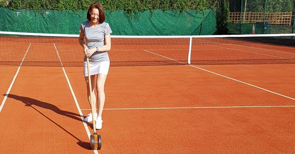 tennis court equipment discount